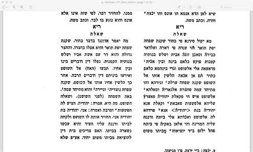 A Legal Query to Moses Maimonides